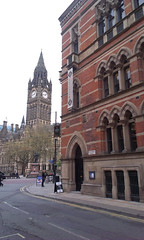 Memorial Hall & Town Hall (misterworthington) Tags: brick architecture manchester gothic victorian lancashire albertsquare worthington thomasworthington deanrowchapel claudeworthington