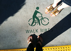 047 february 16, 2013 (mrbosslady) Tags: feet beach bike shoes sidewalk longbeach flipflops whereistand