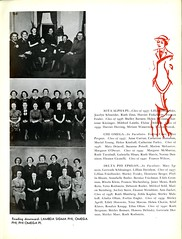 Sororities (Page 4/5) (Hunter College Archives) Tags: students club photography yearbook clubs hunter sorority 1937 huntercollege studentorganizations organizations sororities omegaphi studentclubs wistarion thewistarion lambdasigmaphi phiomegapi