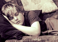 Asleep on the sofa ~ he was ill at school today. (slightly everything) Tags: uk boy sleeping england childhood mobile person photo europe nap child son ill smartphone rest resting asleep sick unwell realpeople age10 katehiscock