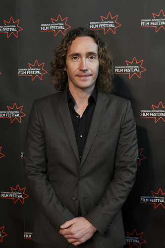 Director Justin Edgar at the We Are The Freaks photocall