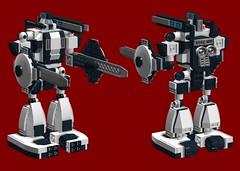 Mecha 01 Secondary Configuration (TF Twitch) Tags: lego modular mecha mechs mech mechas