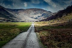 The long way (m@yphotos) Tags: nature scotland nikon europa track place natur april continent tal sonstiges weg schottland ort grossbritannien 2011 d90 greatbrittain kontinent findhornvalley mygearandme mygearandmepremium mygearandmebronze mygearandmesilver