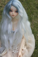 lovely fluffy (~elsii~) Tags: school winter art lady dolls body wig fir bjd custom soom pure rosette andreja faceup leeke
