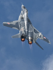 Polish Mig 29 Demo. RIAT 2013 (Pete Fletcher Photography) Tags: