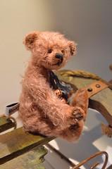 Pretty in Pink (mekare_nl) Tags: bear art artist teddy handmade bears mohair teddybear bjd artistbear mekare mekarebears