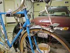 Rack on Bike (jimgskoop) Tags: blue bicycle cycling pelican custom racks randonneur boxdogbikes 2013 bdb eyefi