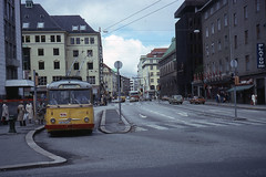 JHM-1977-1142 - Norvège, Bergen, trolleybus (jhm0284) Tags: norvège norvege trolleybus