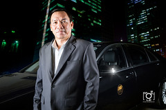 a man in front of car (Andy Le | +84908231181) Tags: city man car vietnam business chi ceo nights ho minh saigon