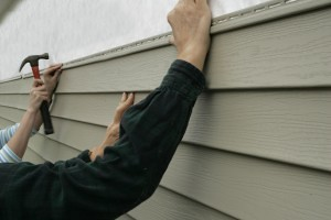 Fiber cement home  siding