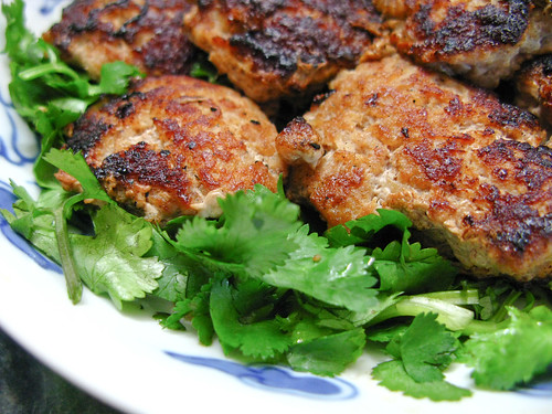 chinese pan fried pork patty salted fish sauce recipe