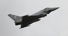 Typhoon 1 20130908 (Steve TB) Tags: iwmduxfordimperialwarmuseum typhoon eurofighter raf imperialwarmuseum iwm 2013 airshow