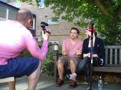 Pete Cohen, Hannah Bradley and Eric Merola