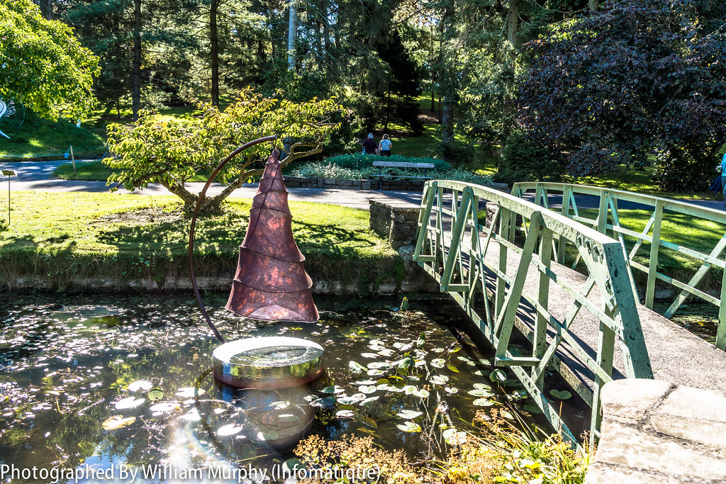Spiral Pond By Anne McGill - Sculpture In Context 2013 In The Botanic Gardens