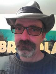 Kencf0618SharpDressedMan (kencf0618) Tags: green selfportraits commando bricolage fedoras boiseidaho goatees