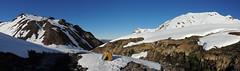 Panorama Aguas Calientes (Mono Andes) Tags: chile ski andes campamento termas skitour esquí randonné chilecentral regióndelbiobío