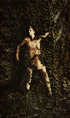 Devoured by Vines (SodanieChea) Tags: california lighting light woman cute art girl beautiful composite composition photomanipulation photoshop canon dark hair photography vines artistic norwalk surrealism creative surreal short amateur surrealistic edit shutterbug devoured sigma50mm14 canon5dmarkiii 5dmk3
