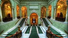 Sveriges Riksdag (tonyguest) Tags: riksdag sverige sweden parliament building d800e stockholm sveriges government interior staircase riksdagen green 16x9 tonyguest stairway carpet marble wood architecture architectural wideangle 14mm guest tony