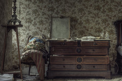 flamboyant  ( explore ) (andre govia.) Tags: house dead mirror bed bedroom chair decay ghost down haunted creepy urbanexploration ghosts mansion manor derelict decayed decaying ue urbex decayedbuildings urbexdecay urbexabandoned andregovia