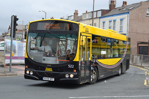 Blackpool Transport Volvo B7RLE 522.AU06BPF - Blackpool