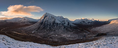 Buachaille pano (Scott Robertson (Roksoff)) Tags: mist 3 black ski mountains rock clouds sisters river scotland highlands nikon centre devils cottage scottish glen na staircase rivers glencoe 24mm mor nam etive lochaber munro lochan bidean bian d600 stob dearg beag coire altruim buachaillle doire 28d coupall criese altnafeadh chrulaiste broige