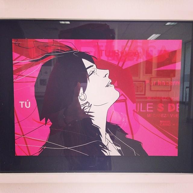 """Rojo 2"" de Manuel Cayao $170 • Bazarte #bazarte #arteenlima #artinlima #arte #art #artist #artista #pintura #painting"