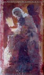 Eugenio Prati Riposo in Egitto olio su tavola 39 x 25 cm Collezione privata