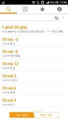 T in Nht Vit JaViDict (baobeishunhua) Tags: kanji android hiragana katakana vitnht nhtvit javidict