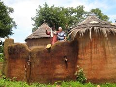 Bei den Somba mit ihren traditionellen Tatas in Benin
