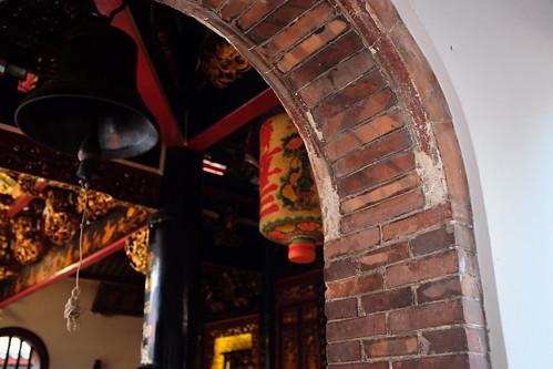 Hong San See archway bricks