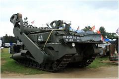 "Toad"" flail conversion of the Churchill Mark VII_Beltring 2008_England (ferdahejl) Tags: war conversion mark ii churchill armour armoured beltring wehicle 2008englandmilitaryarmytankmuseumww toad""flail viibeltring"
