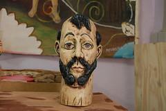 Cabeça de São Francisco (fabriciabarcelos) Tags: decoração madeira sãofrancisco artesanatomineiro michaelferreira