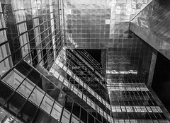 """Another different angle [BW] (hank photography) Tags: winter reflection building london glass architecture john evening nikon january embankment 2014 d90 no1londonbridge pargeter simplysuperb """"nikonflickraward"""" reflectsobsessions jpargeter bedfordcameraclub hankphotography 447786967022 copyright©2014johnpargeter"""