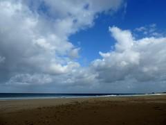 Winter (RoBeRtO!!!) Tags: blue sea sky white beach wet water clouds sand mare nuvola cielo sicily bianca acqua azzurro spiaggia sabbia sanvitolocapo bagnata rdpic nikonp520