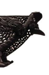Figurehead of a waka taua (war canoe) (arum_lily) Tags: newzealand museum carving auckland maori domain waka