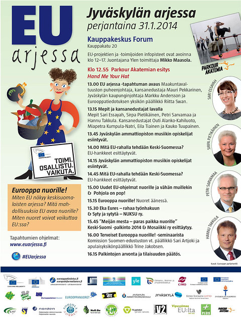 Thumbnail for EU arjessa -tapahtuma Jyväskylässä 31.1.2014