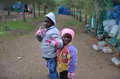 Life in the forest (P A Raymond) Tags: eu morocco nigeria migration migrants