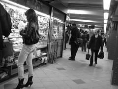 Subway station, Columbus Circle (Dan_DC) Tags: city nyc newyorkcity people urban newyork subway grit publictransportation manhattan candid stock gritty license mta newsstand subwaystation commuters rf imagebank royaltyfree urbanscene urbangrit flatfee scenesfromthegrittycity