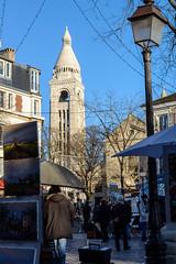 Paris (MikePScott) Tags: camera trees paris france lens streetlight îledefrance streetlamp montmartre lamppost builtenvironment nikon2470mmf28 nikond800 featureslandmarks