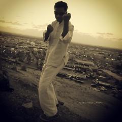 Sam photographer ( ) Tags: me rose follow jeddah followme           {vision}:{mountain}=0797 {flickrandroidapp}:{filter}=none {vision}:{sunset}=0679 {vision}:{sky}=0936 {vision}:{ocean}=0537 {vision}:{clouds}=0909