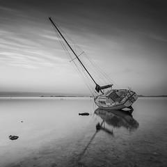 aground (tpeñalver - www.tomaspenalver.es) Tags: longexposure mediterraneo explore murcia aground marmenor largaexposición lopagan encallado