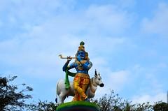 The Lord..At Udupi railway station (Shreejithism) Tags: india nature nikon kerala divine maharashtra spiritual krishna karnataka udupi d5100