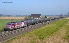 37027 Akiem (vsoe) Tags: railroad train germany deutschland engine eisenbahn rail railway trains alstom bahn züge niedersachsen kesselwagen akiem 37027 lemförde kesselwagenzug