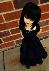 Fairy Goth Mother Kira 3 (abrowin) Tags: ball project doll gothic goth bjd kira cp dollfie luts delf abjd jointed cerberus lishe