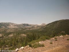 Sierra Nevada Mountains (brianapa) Tags: travel usa mountain train sierranevada californiazephr