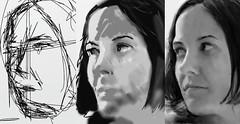 Digital painting (clozano80) Tags: portrait art girl digital painting sketch timelapse drawing workinprogress cutegirl pintura fingerpainting pinturadigital speedpainting paintingprocess dibujodigital flickrandroidapp:filter=none procesopintura