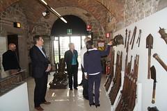 Il console generale degli Stati Uniti in visita al Museo della Grande Guerra (Provincia di Gorizia) Tags: usa museo console grandeguerra gherghetta