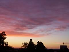 Aurore rose, samedi 12 octobre 2013 (gunger30) Tags: ciel nuages temps octobre aurore mto mtorologie 2013