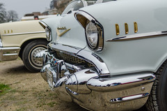 1957 Chevrolet Bel Air (el.guy08_11) Tags: paris france chevrolet îledefrance voiture collection 1957