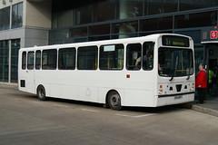 JPT Dennis Dart J944MFT - Shudehill, Manchester (dwb transport photos) Tags: bus manchester wright dennis dart jpt handybus shudehill j944mft